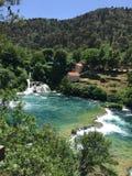 Parque nacional Krka foto de stock royalty free