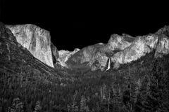 Parque nacional los E.E.U.U. de Yosemite fotografía de archivo libre de regalías