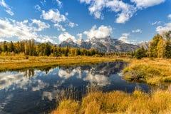 Parque nacional magnífico de Teton foto de archivo libre de regalías
