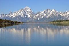 Parque nacional magnífico de Teton Imagen de archivo libre de regalías