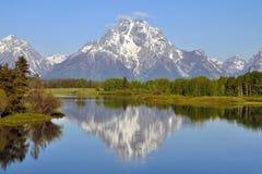 Parque nacional magnífico de Teton Fotografía de archivo