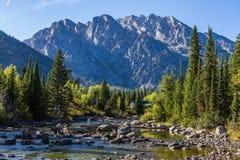 Parque nacional magnífico de Teton Imágenes de archivo libres de regalías