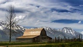 Parque nacional magnífico de Teton wyoming imagenes de archivo