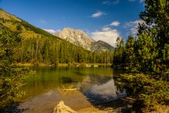 Parque nacional magnífico de Teton, Wyoming imágenes de archivo libres de regalías