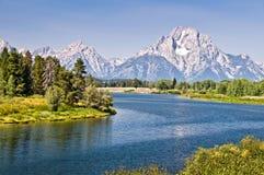 Parque nacional magnífico de Teton, Wyoming Imagen de archivo libre de regalías