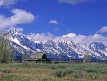 Parque nacional magnífico de Tetons imagenes de archivo