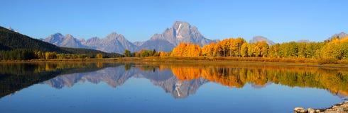 Parque nacional magnífico de Tetons fotografía de archivo libre de regalías