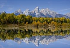Parque nacional magnífico de Teton Fotografía de archivo libre de regalías