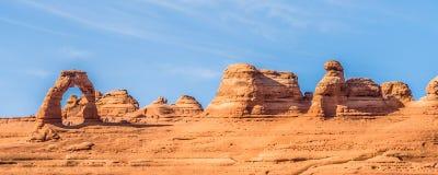 Parque nacional Moab Utá EUA dos arcos imagem de stock royalty free