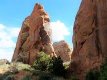 Parque nacional Moab Utah de los arcos Imagen de archivo