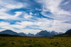 Parque nacional Montana de geleira Foto de Stock