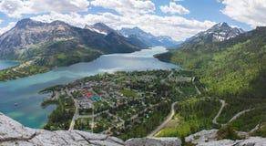 Parque nacional Mountain View de Waterton Imágenes de archivo libres de regalías
