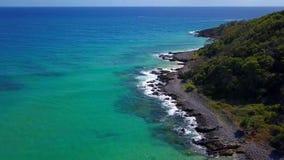 Parque nacional na costa da luz do sol, Queensland de Noosa, Austrália fotos de stock
