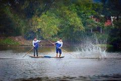 Parque nacional Ninh Binh Vietnam 14-12-2013 Fotografía de archivo libre de regalías