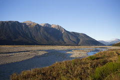 Parque nacional Nova Zelândia da passagem de Arthur Imagens de Stock