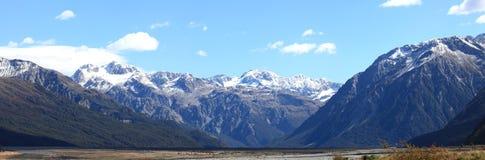 Parque nacional Nueva Zelandia del paso de Arturo Imagen de archivo