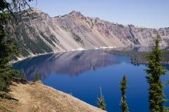 Parque nacional Oregon EUA do Caldera do lago crater foto de stock