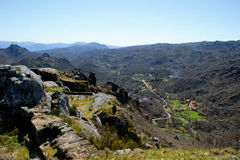 Parque Nacional Peneda Geres. In Portugal royalty free stock images