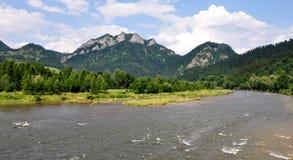 Parque nacional Pieniny, Eslováquia, Europa Imagens de Stock Royalty Free