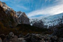 Parque Nacional Queulat, Carretera Austral, шоссе 7, Чили Стоковые Фото