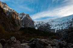 Parque Nacional of Queulat, Carretera Austral, Highway 7, Chile Stock Photos