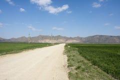 Parque nacional Romênia das montanhas de Macin Fotos de Stock