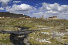 Parque Nacional Sajama. Parque National Sajama Bolivia; nature view Stock Photography