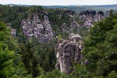 Parque nacional saxão de Switzerland Fotos de Stock