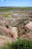 Parque nacional SD de los Badlands Imagenes de archivo