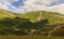 Parque nacional Shahdag (Azerbaijan) de las montañas fotografía de archivo