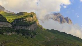 Parque nacional Shahdag (Azerbaijan) de las montañas imagen de archivo libre de regalías