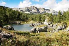 Parque nacional slovenia Europa de Triglav Fotografia de Stock