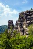 Parque nacional Suiza bohemia, República Checa Fotos de archivo