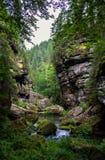 Parque nacional Suiza bohemia, República Checa Fotografía de archivo