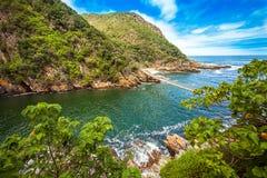 Parque nacional Suráfrica de Tsitsikamma Imagen de archivo libre de regalías