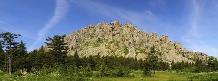 Parque nacional Taganay del panorama Imagenes de archivo