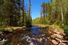 Parque nacional Taganay, Ural sul, Rússia Fotos de Stock Royalty Free