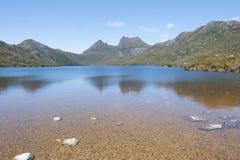 Parque nacional Tasmania Australia de la montaña de la cuna Fotografía de archivo libre de regalías