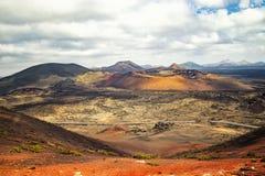 Parque nacional Timanfaya fotos de stock