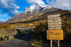 Parque Nacional Torres del Paine, Chile Royalty Free Stock Images