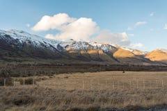 Parque Nacional Torres del Paine in Chile. Mountains in Parque Nacional Torres del Paine, Chile Royalty Free Stock Photo