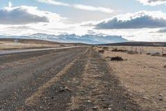 Parque Nacional Torres del Paine in Chile. Mountains in Parque Nacional Torres del Paine, Chile Stock Images