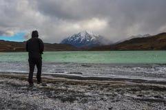 Parque Nacional Torres del Paine, Cile Immagini Stock Libere da Diritti