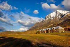 Parque Nacional Torres del Paine, Cile Fotografia Stock
