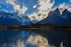 Parque Nacional Torres del Paine, Cile Fotografia Stock Libera da Diritti