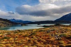 Parque Nacional Torres del Paine, Cile Immagine Stock Libera da Diritti