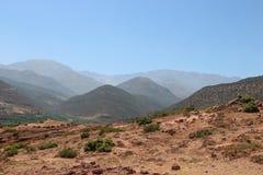 Parque nacional Toubkal em Marrocos Fotos de Stock Royalty Free
