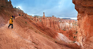 Parque nacional Utá da garganta de Bryce Foto de Stock
