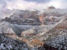 Parque nacional Utá de Zion fotografia de stock royalty free