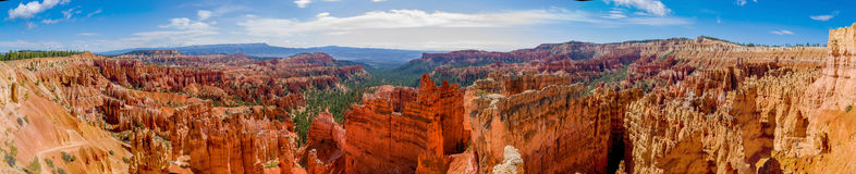 Parque nacional Utah del barranco de Bryce Imagen de archivo libre de regalías